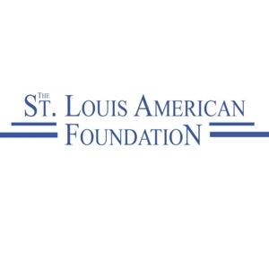 The logo of the St. Louis American Foundation, in blue serif text.